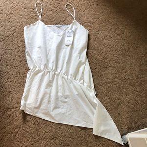 NWT Zara White Tank Top